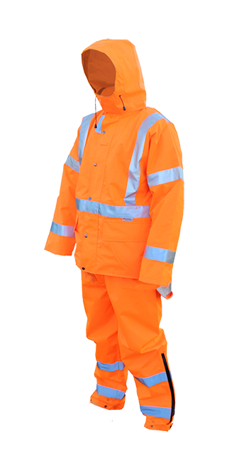 Hi Viz Safety Wet Weather Set