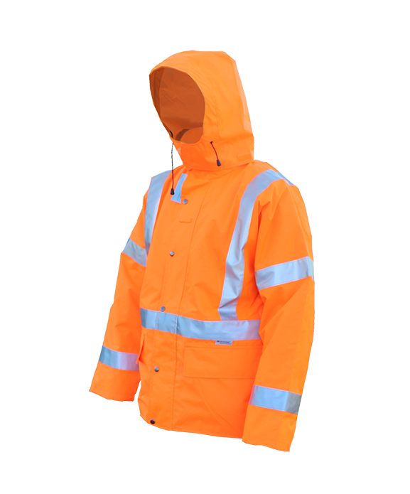 Hi Viz Safety Wet Weather Jacket