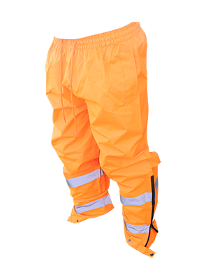Hi Viz Safety Wet Weather Pants