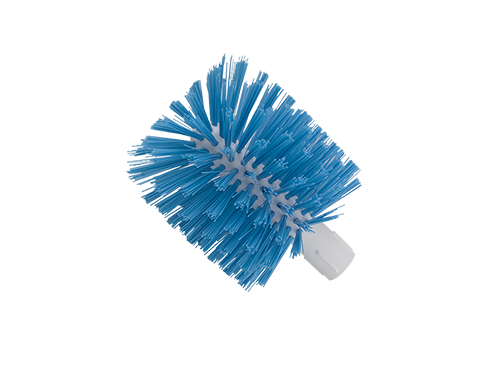 Chute Brush White Plastic Core 130mm